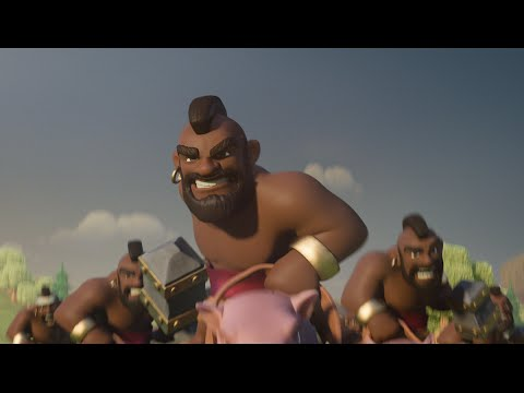 Clash of Clans Ride of the Hog Riders Official TV