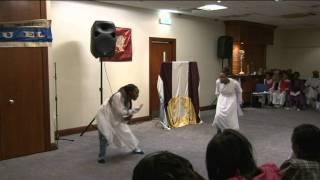 Behind the veil dance