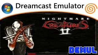 Nightmare Creatures 2 (PC) Dreamcast Emulator / Demul 0.7A