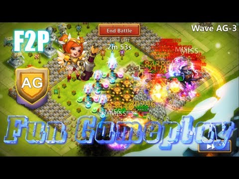 F2P HBM AG FUN GAMEPLAY - Castle Clash
