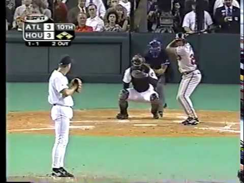 1999 NLDS Game 3 Braves at Astros partial (Walt Weiss play)