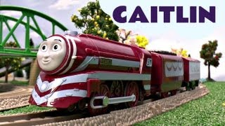 King Of The Railway Caitlin Thomas And Friends Trackmaster Kids Toy Train Set Thomas The Tank