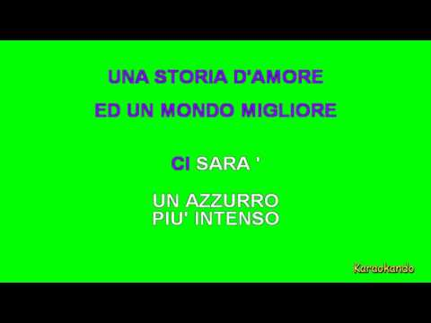 Karaoke Italiano - Ci Sarà - Albano Carrisi e Romina Power ( Testo )