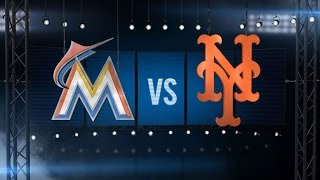 4/19/15: Harvey, Tejada lead Mets to sweep of Marlins