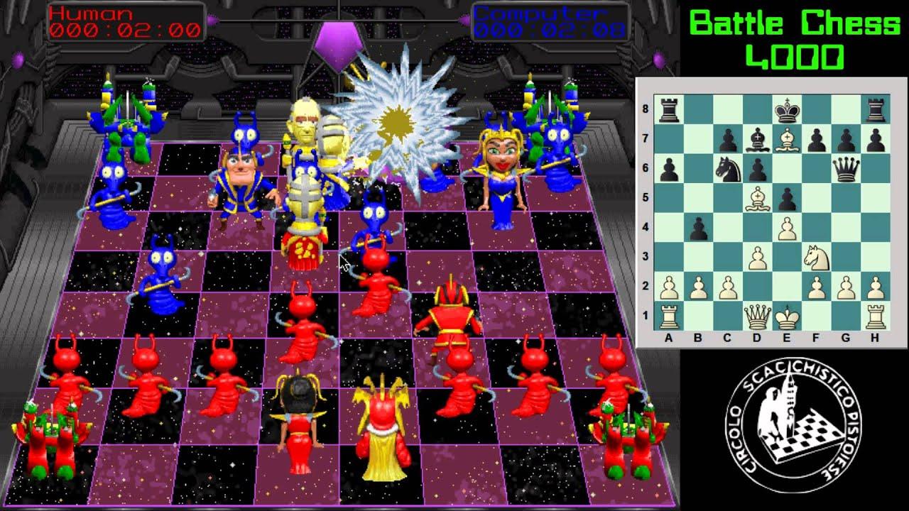 Videogiochi di scacchi 06 battle chess 4000 1992 youtube for Battle chess