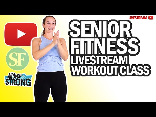 Full Body Resistance Bands Workout Class For Seniors | Livestream