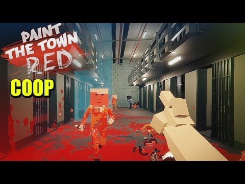 COOP EN LA CÁRCEL y PIRATAS - PAINT THE TOWN RED ONLINE| Gameplay Español