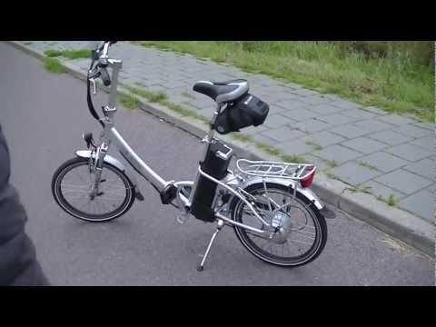 nimoto handy elektrische vouwfiets getest e bike test. Black Bedroom Furniture Sets. Home Design Ideas