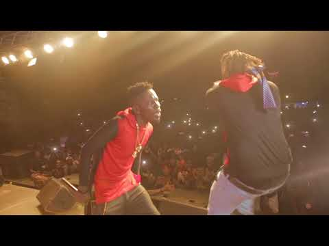 Shatta Wale performance @ Legon