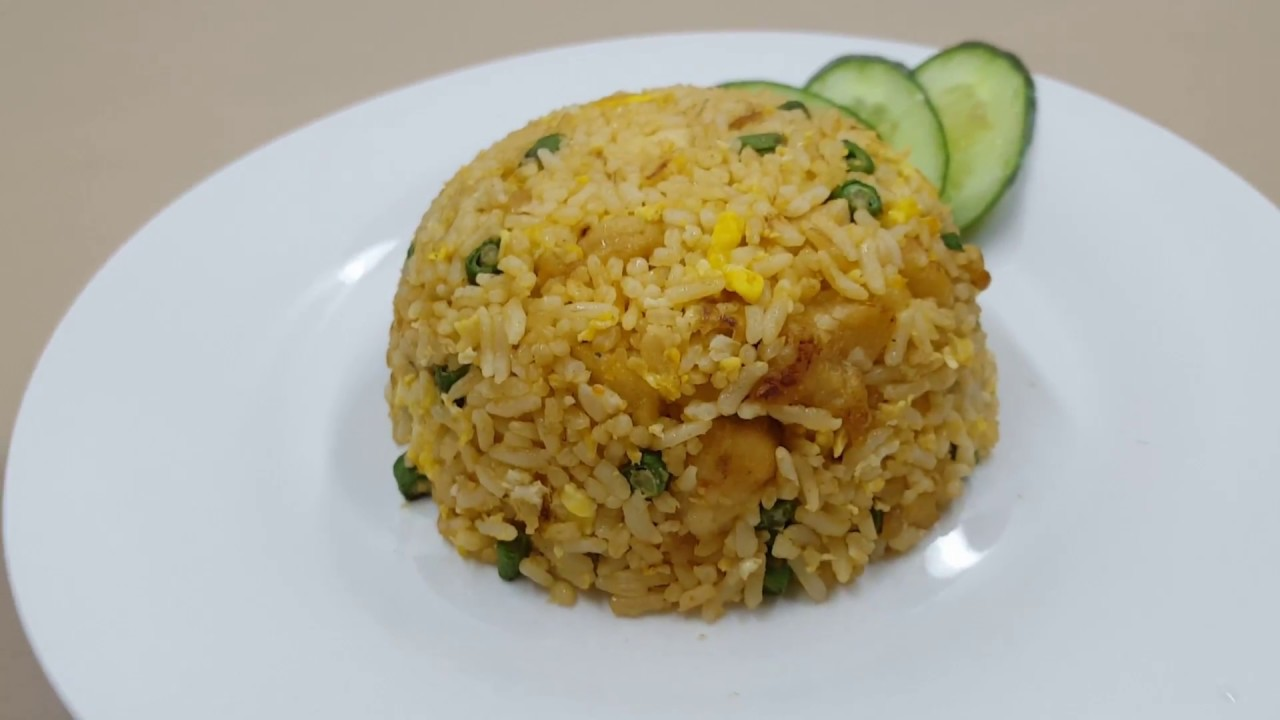 Simple Chicken Fried Rice Homemade Recipe Simple Easy Youtube