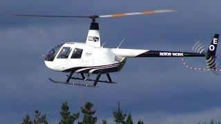 Rotor Work Robinson R44
