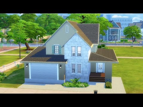 The Sims 4 - Family Home | Speed Build | Family House Building thumbnail