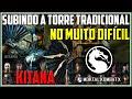 KITANA: Torre tradicional no MUITO DIFÍCIL! | Mortal Kombat X (PC)