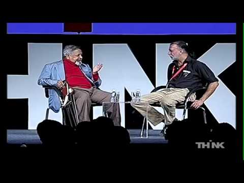 Sir VS Naipaul at THiNK 2011