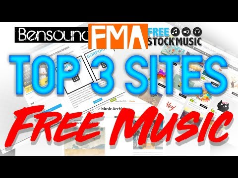 Top 3 Websites for NonCopyrighted Free Music!