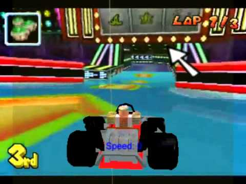 Mario Kart At Roblox Mario Kart Roblox Style Youtube