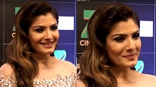 Raveena Tandon   Red Carpet   Zee Cine Awards 2017
