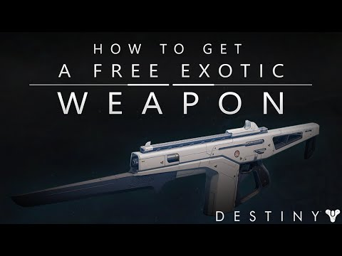 Destiny: How To Get Free EXOTIC Weapons! (First Deceptive Engram Veteran's Quest!)