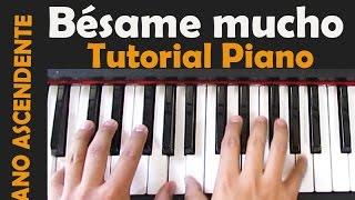 BESAME MUCHO TUTORIAL PIANO