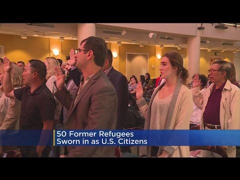 Dozens Of Former Refugees Sworn In As US Citizens In Sacramento