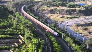 客车1418次通过京哈线哈西外绕线 Train 1418 CROSSING Jing——Ha line