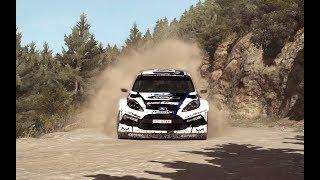 Ford Fiesta RS Rally at Argolis Greece - Ourea Spevsi thumbnail