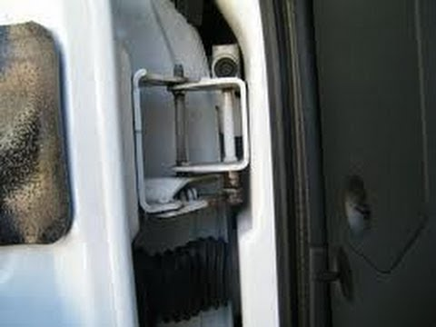 How To Repair Your Worn Out Truck Door Hinges Part 1
