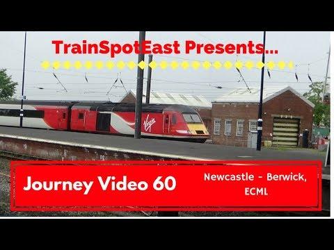 Journey Video 60: Newcastle - Berwick-upon-Tweed, ECML - 26/5/18 [GR, 43257 & 43317]
