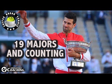 Djokovic Devastates Tsitsipas/Moves to 19 Slams | Coffee Break Tennis