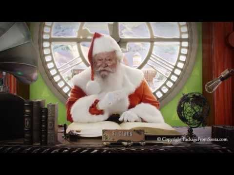 Free Personalized Video from Santa Claus - Letters from Santa!