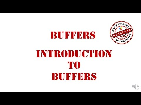 Buffers | Introduction | Calculation of pH of Buffers | Acid Base Equilibrium