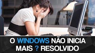 Como corrigir o Windows pelo CMD na inicialização