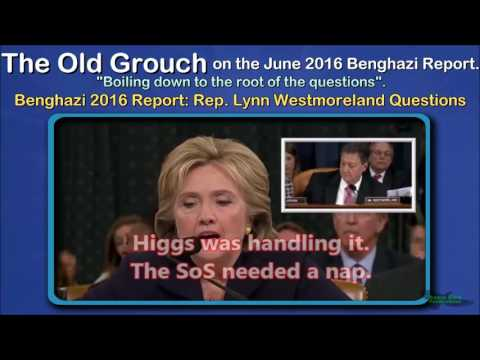 Benghazi 2016 Report Rep: Lynn Westmoreland Questions. OGB 36 of 41.