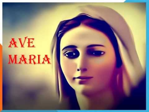 Ave maria prayer english think