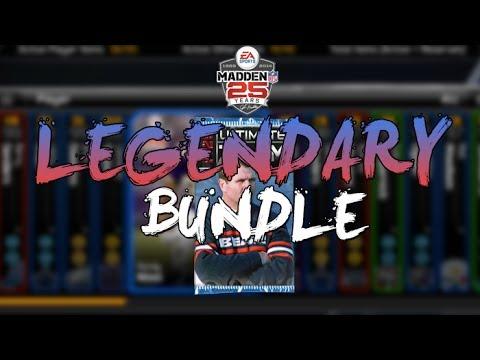Madden 25 Ultimate Team - LEGENDARY BUNDLE PACK OPENING - Multiple UL Pulls!   MUT 25