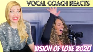 Vocal Coach/Musician Reacts: MARIAH CAREY 'Vision Of Love' Live on GMA 2020