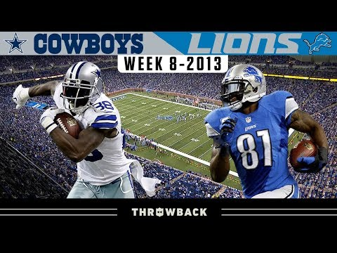 [Highlight] Calvin Johnson GOES OFF for 329 yards in a comeback victory over the Dallas Cowboys, as the Lions win 31-30 on a Fake Spike-turned touchdown by Matthew Stafford with 12 seconds left.