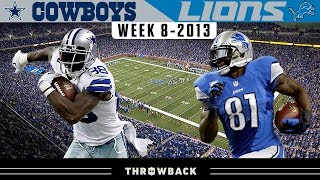 MEGATRON: Revenge of the Lions! (Cowboys vs. Lions 2013, Week 8)