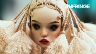 Watch the Popovy Sisters create their intricate dolls by hand