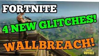FORTNITE - 4 NEW GLITCHES AND HIDING SPOTS!