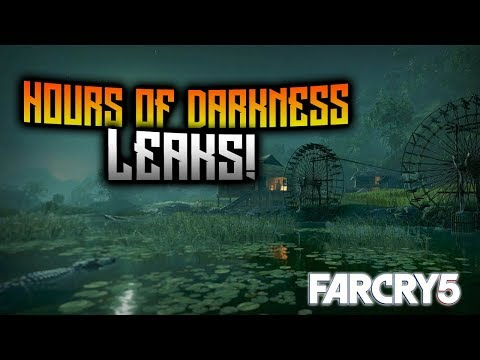FAR CRY 5 - Hours Of Darkness Leaks! Weapons, Animals, Missions, And MORE! Vietnam DLC