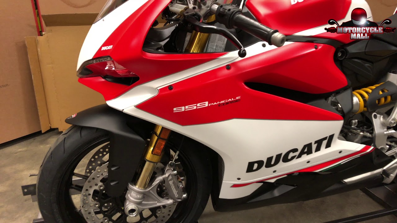 2018 Ducati 959 Panigale Corse Unboxing Youtube