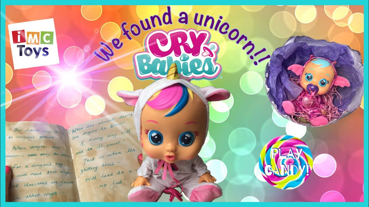 Cry Babies Doll DREAMY The Unicorn Baby New 2019