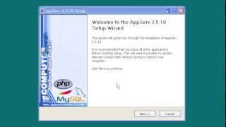 เรียนรู้การเขียนโปรแกรมภาษา PHP ตอนที่ 1 จำลองเครื่องให้เป็น web server สำหรับพัฒนาภาษา php