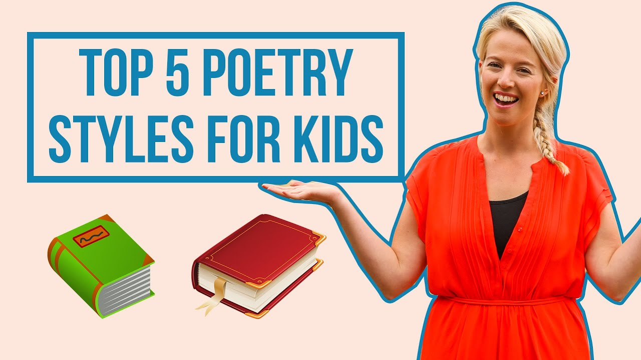 Top 5 Poetry Styles For Kids // Learning From Home