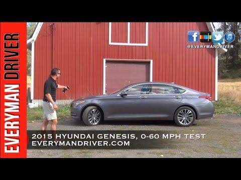 How Fast 0 60 Mph 2015 Hyundai Genesis On Everyman Driver