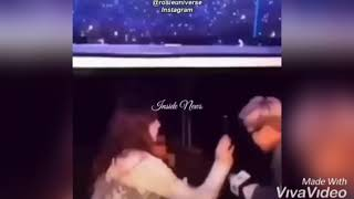 Jisoo 💞 Nam Joon unseen moments / Namsoo Couple Spotted together at backstage interact with fans.