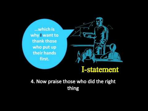 Positively MAD Teaching Tip #10: Classroom Management: I-Statements