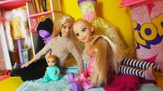 ПЕРЕНОЧЕВАЛИ  В МАГАЗИНЕ / Мама Барби  играем в куклы