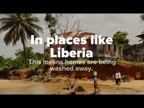 Standing firm against rising tides in Liberia
